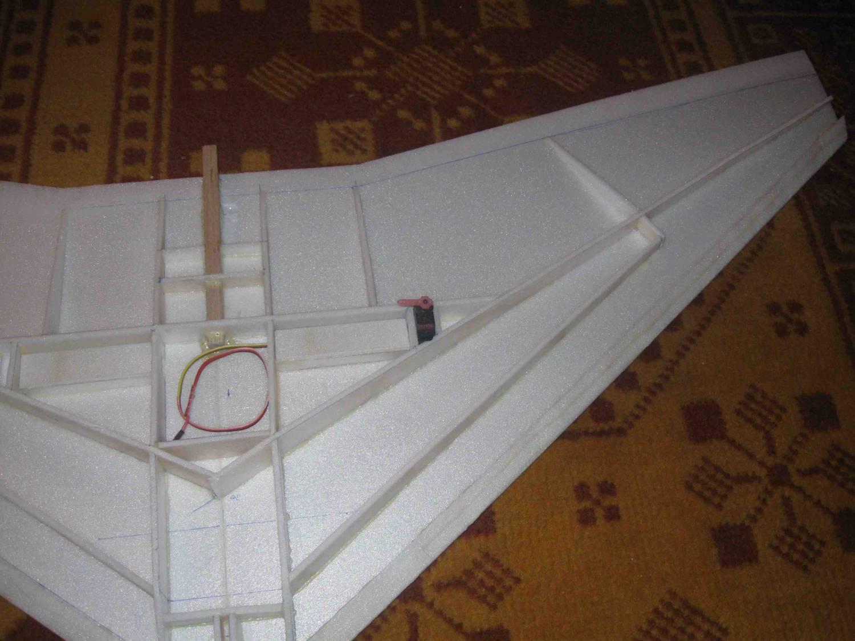Как сделать крыло самолета из потолочки видео 2